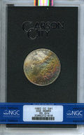 1882-CC $1 GSA MS62 ★ NGC. NGC Census: (2039/16774 and 11/161*). PCGS Population: (80/490 and 11/161*). ...(PCGS# 518866...