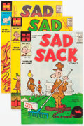 Silver Age (1956-1969):Humor, Sad Sack Comics Armed Forces Commentaries File Copies Box Lot (Harvey, 1957-62) Condition: Average VF/NM....