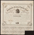 Confederate Notes:Group Lots, Ball 220 Cr. 121A $500 Bond 1863 Fine.. ...