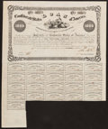 Confederate Notes:Group Lots, Ball 82 Cr. 90 $1000 1861 Bond Very Fine. . ...
