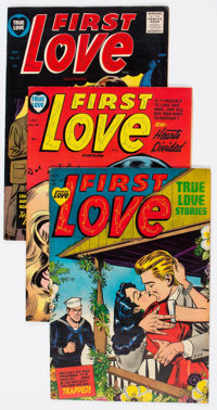 Harvey Golden and Silver Age Romance Comics File Copies Box Lot (Harvey, 1949-58) Condition: Average FN/VF