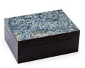 Lapidary Art:Boxes, Decorative Box. Artist: Konstantin Libman. 3.62 x 2.76 x 1.50inches (9.20 x 7.00 x 3.80 cm). ...