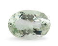 Gems:Faceted, Gemstone: Prasiolite - 19.82 Cts.. Brazil. 22 x 15.3 x 11mm. ...