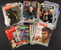 Books:Periodicals, [Mickey Spillane]. Approximately Sixty Magazines FeaturingSpillane. Circa 1970-2006....