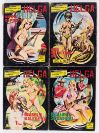 Lucreia and Other Italian Fumetti Box Lot (Various Publishers, 1970s) Condition: Average GD.... (Total: 3 Box Lots)
