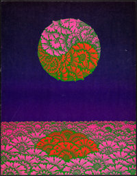 """Neiman Marcus by Victor Moscoso (Victor Moscoso, 1967). Neon Rose Series Poster (22"""" X 28""""). Rock and Roll..."""