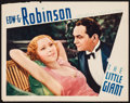 "Movie Posters:Crime, The Little Giant (First National, 1933). Lobby Card (11"" X 14"").Crime.. ..."