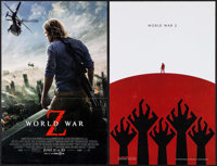 "World War Z (Paramount, 2013). Cinemark Exclusive Mini Poster & Mini Poster (11"" X 17""). Horror. ... (Tota..."