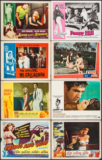 """Young and Wild & Others Lot (Republic, 1958). Lobby Cards (48) (11"""" X 14""""). Bad Girl. ... (Total: 48 Items..."""