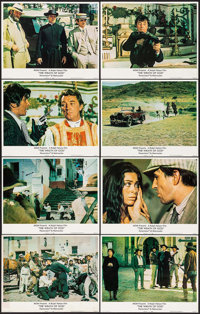 """The Wrath of God (MGM, 1972). Lobby Card Set of 8 (11"""" X 14""""). Western. ... (Total: 8 Items)"""