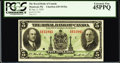 Canadian Currency: , Montreal, PQ- The Royal Bank of Canada $5 Jan. 2, 1935 Ch. #630-18-02a. . ...