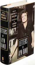Books:Mystery & Detective Fiction, [Mickey Spillane]. Michael S. Berliner. Letters of Ayn Rand.[New York]: [1995]. First edition, Mickey Spillane'... (Total: 2Items)