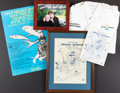Books:Prints & Leaves, [Mickey Spillane]. Group of Five Items Related to Fishing and MudBoat Marina. Circa 1986-2000.... (Total: 5 Items)
