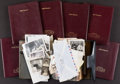 Miscellaneous:Ephemera, [Mickey Spillane]. Group of Seven Address Books and Planners. Circa1984-1997.... (Total: 7 Items)
