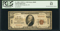 National Bank Notes:Wisconsin, Dodgeville, WI - $10 1929 Ty. 1 The First NB Ch. # 6698. ...