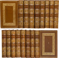 Books:Fine Bindings & Library Sets, John Doran. The Works of John Doran. Boston: Francis Niccolls, [circa 1910]. Edition de Luxe, limited to 1000 copies... (Total: 27 Items)