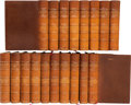 Books:Fine Bindings & Library Sets, [Robert Browning and Elizabeth Barrett Browning]. The Complete Works of... New York: George D. Sproul, 1899-1901. Au... (Total: 18 Items)