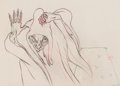 Animation Art:Production Drawing, Snow White and Seven Dwarfs Old Hag Animation Drawing (WaltDisney, 1937)....