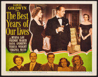 """The Best Years of Our Lives (RKO, 1946). Lobby Card (11"""" X 14""""). Drama"""