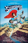 "Movie Posters:Action, Superman III & Other Lot (Warner Brothers, 1983). One Sheets(2) (27"" X 41""). Action.. ..."