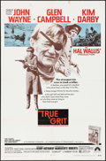 "Movie Posters:Western, True Grit (Paramount, 1969). One Sheet (27"" X 41""). Western.. ..."