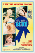 """Movie Posters:Adult, Blue Ribbon Blue & Other Lot (Cinevogue Films, 1985). One Sheets (2) (27"""" X 41"""", 25"""" X 37.75"""") & Uncut Pressbooks (2) (4 Pag... (Total: 4 Items)"""