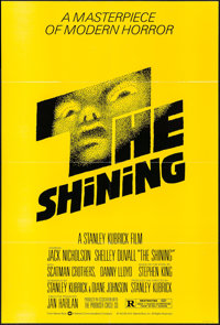"""The Shining (Warner Brothers, 1980). One Sheet (27"""" X 40.5""""). Horror"""