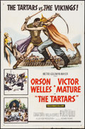 "Movie Posters:Action, The Tartars & Other Lot (MGM, 1961). One Sheets (2) (27"" X 41""). Action.. ... (Total: 2 Items)"