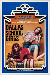 """Dallas School Girls & Other Lot (New York Releasing, 1981). One Sheets (2) (27"""" X 41"""", 25"""" X 38""""..."""