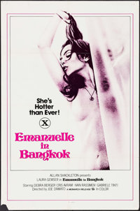 """Emanuelle in Bangkok & Other Lot (Monarch, 1978). One Sheets (2) (27"""" X 41"""") & Photos (2) (11"""" X..."""