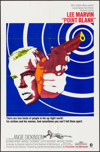 """Point Blank (MGM, 1967). One Sheet (27"""" X 41""""). Crime"""