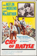 """Movie Posters:War, Cry of Battle & Other Lot (Allied Artists, 1963). One Sheets(2) (27"""" X 41""""). War.. ... (Total: 2 Items)"""