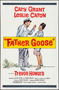 """Father Goose (Universal, 1965). One Sheet (27"""" X 41""""). Comedy"""