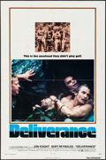 """Movie Posters:Action, Deliverance (Warner Brothers, 1972). One Sheet (27"""" X 41"""").Action.. ..."""