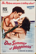 "Movie Posters:Foreign, One Summer of Happiness & Others Lot (Times Film, 1955). One Sheets (3) (27"" X 41""). Foreign.. ... (Total: 3 Items)"