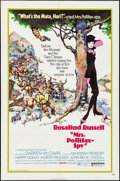 "Movie Posters:Adventure, Mrs. Pollifax -- Spy (United Artists, 1971). One Sheet (27"" X 41"").Adventure.. ..."