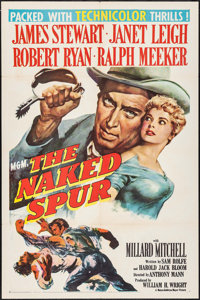 """The Naked Spur (MGM, 1953). One Sheet (27"""" X 41""""). Western"""