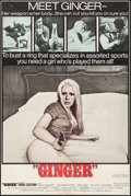 "Movie Posters:Sexploitation, Ginger & Other Lot (Joseph Brenner Associates, 1971). TrimmedOne Sheet (26.5"" X 40"") & One Sheet (27.5"" X 41"").Sexploitati... (Total: 2 Items)"