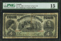 Canadian Currency, DC-17b $4 1902.. ...