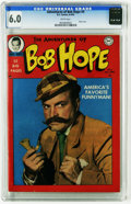 Golden Age (1938-1955):Humor, The Adventures of Bob Hope #4 (DC, 1950) CGC FN 6.0 White pages. Photo cover of Bob Hope as a Sherlock Holmes-like character...