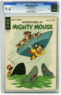Silver Age (1956-1969):Cartoon Character, Adventures of Mighty Mouse #156 File Copy (Gold Key, 1962) CGC NM 9.4 Off-white to white pages. Back cover pin-up. Overstree...