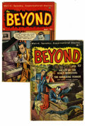 Golden Age (1938-1955):Horror, The Beyond #2 and 4 Group (Ace, 1951). Group consists of two comics#2 (GD/VG) and 4 (GD). Approximate Overstreet value for ... (Total:2 Comic Books)