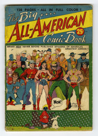 Big All-American Comic Book #1 (DC, 1944) Condition: Apparent GD. This 132-page one-shot and early DC annual features Jo...