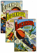 Silver Age (1956-1969):Adventure, Blackhawk Group (DC, 1957-60) Condition: Average VG. Includes #116, 123, 124, 127, 131, 132, 134, 135, 137, 138, 140, 142, 1... (Total: 14 Comic Books)