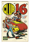 """Golden Age (1938-1955):Humor, Club """"16"""" #1 (Famous Funnies, 1948) Condition: VF+. Overstreet 2005VF 8.0 value = $74; VF/NM 9.0 value = $102...."""