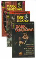 Bronze Age (1970-1979):Horror, Dark Shadows Group (Gold Key, 1969-76). Just two issues short of afull run, this group includes #1 (with poster intact), 2,...(Total: 33 Comic Books)