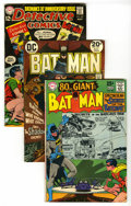 Bronze Age (1970-1979):Miscellaneous, DC Bronze Group (DC, 1967-75). This group includes Batman 203 and253 (avg.FN; #203 is an 80-pager with a Neal Adams cov... (Total:31 Comic Books)