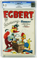 Golden Age (1938-1955):Funny Animal, Egbert #1 Carson City pedigree (Quality, 1946) CGC NM- 9.2 Whitepages. Funny Animal stories. First appearance of Egbert and...