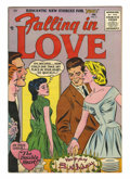 Silver Age (1956-1969):Romance, Falling in Love #3 (Arleigh/DC, 1956) Condition: VF-. Overstreet2005 VF 8.0 value = $71....