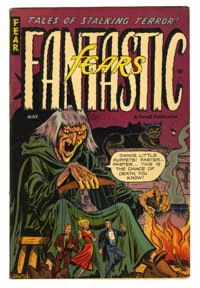 Fantastic Fears 7(#1) (Farrell, 1953) Condition: Apparent FN. Amateur color touch. Overstreet 2005 GD 2.0 value = $48; V...